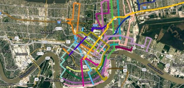 New Orleans Public Transit